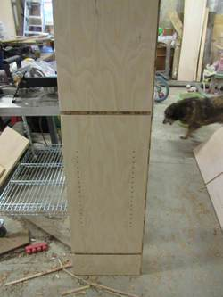 Determine The Width, Depth, And Height Of Your Cabinet. Cut The Sides From  3/4u2033 Plywood, Deducting 3/4u2033 For The Face Frame.